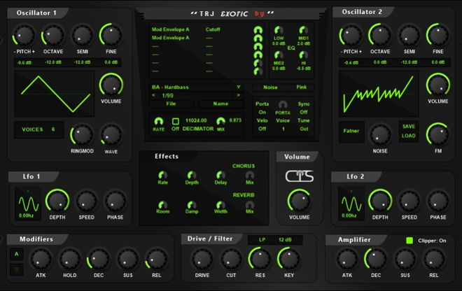 Exotic Free VST Synthesizer