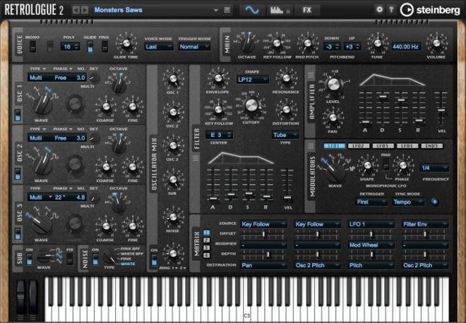Retrologue 2 Synth Plugin