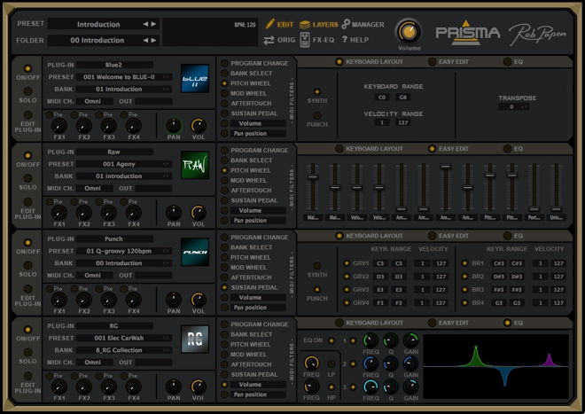 PRISMA Utility Plugin by Rob Papen