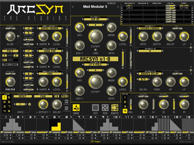 ArcSyn VST Synth Plugin