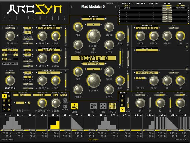 ArcSyn VST Synth Plugin