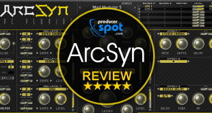 Review: ArcSyn Synthesizer Plugin by SPC Plugins