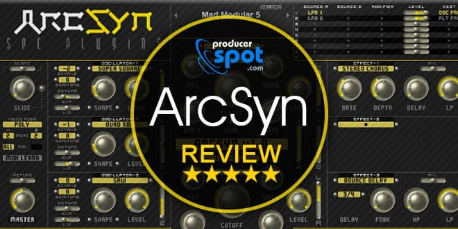 ArcSyn Synthesizer Plugin Review