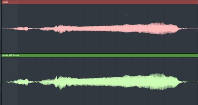 Bounce Compressor for Vocals
