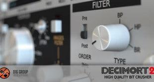 Decimort 2 Bit Crusher VST Plugin