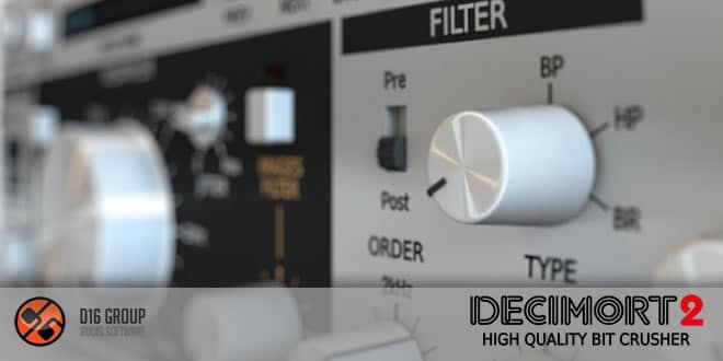 Decimort 2 Bit Crusher VST Plugin