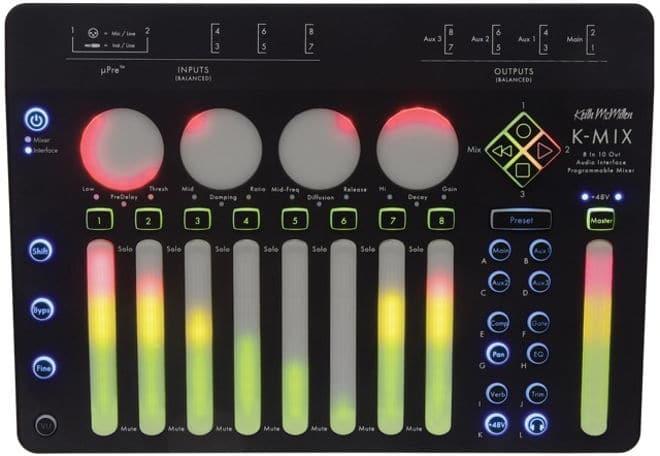 K-MIX MAC OS Audio Interface