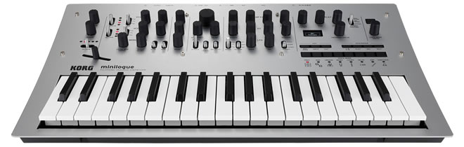 Minilogue Analog Synthesizer by Korg