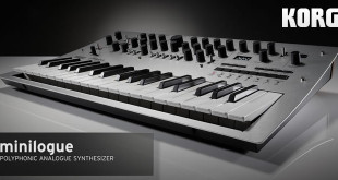 Minilogue Next-Gen Analog Synthesizer Announced by KORG