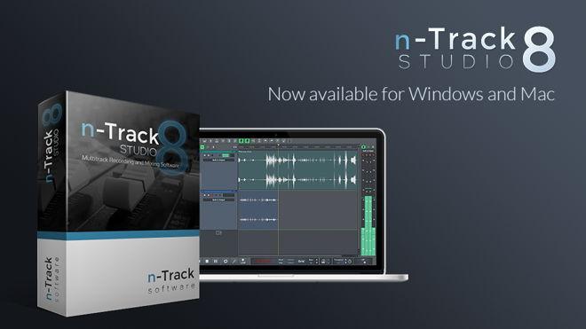 n-Track Studio 8 Recording Software