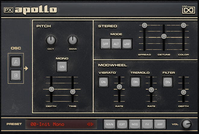 PX Apollo Synth