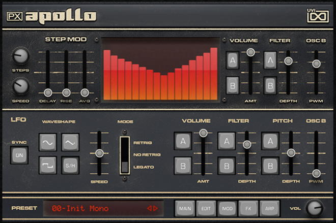 UVI PX Apollo Plugin