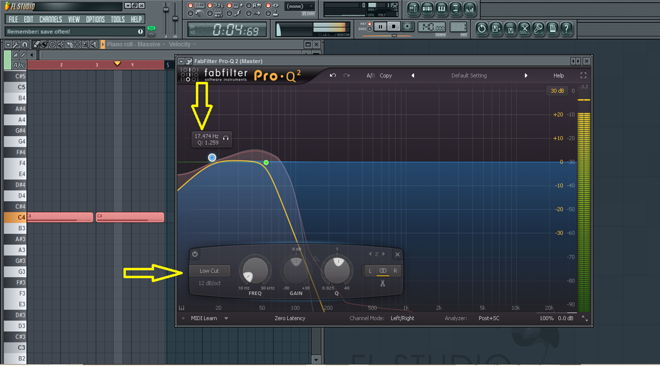 How to EQ Sub Bass in Pro-Q2