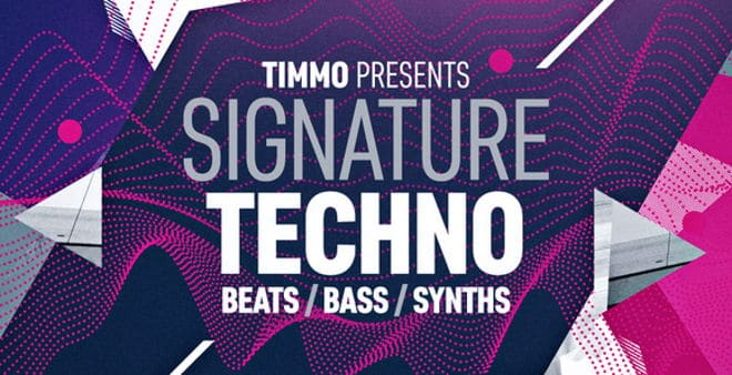Timmo Signature Techno Sample Pack