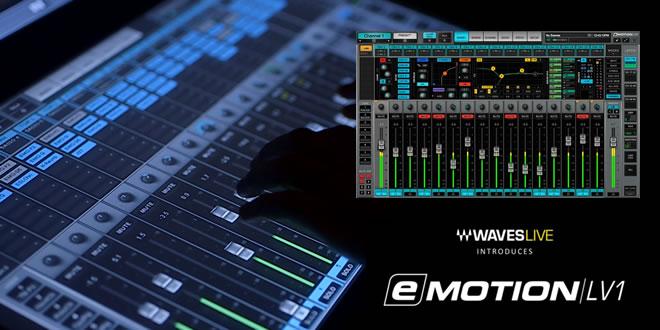 Waves eMotion LV1 Live Mixer
