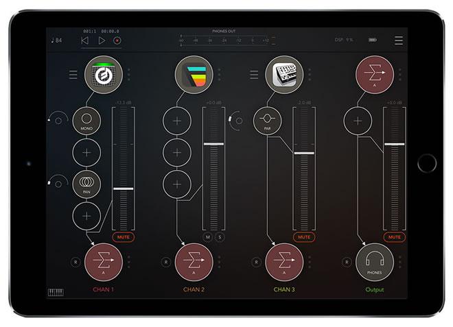 AUM iOS audio mixer