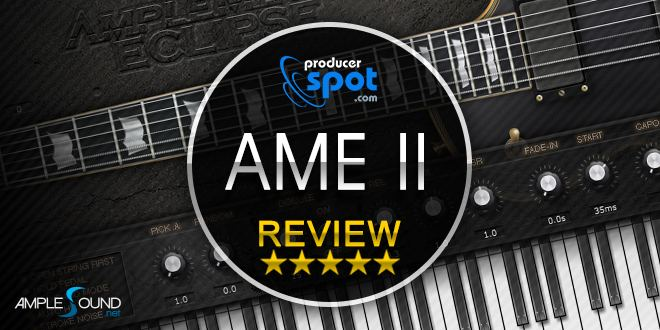 review ample metal eclipse ii guitar plugin by amplesound producerspot. Black Bedroom Furniture Sets. Home Design Ideas