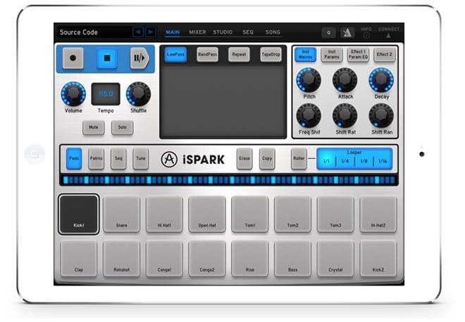 Arturia iSPARK iPad