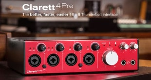 Clarett 4Pre Audio Interface by Focusrite