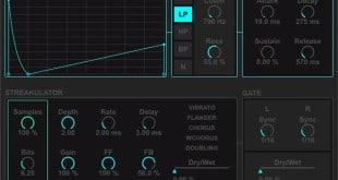 STREAKULATOR Effect for Ableton Live by Audiomodern