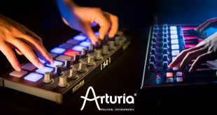 BeatStep and MiniLab Black Editions Released by Arturia