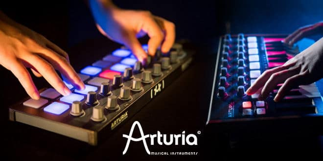 Arturia BeatStep and MiniLab Black Editions