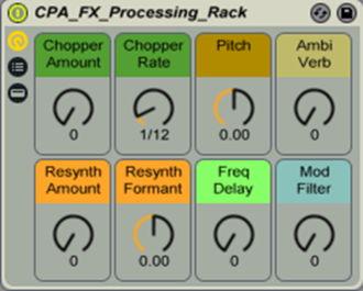 FX Processing Racks