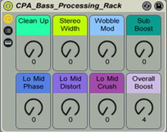 Bass Processing Rack
