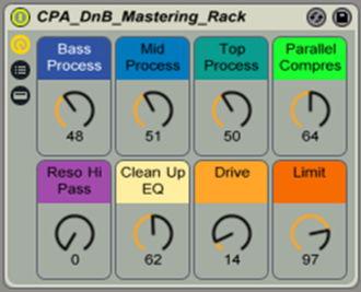 DnB Mastering Rack