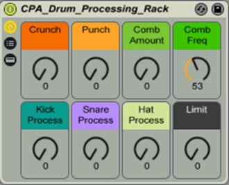 Drum Processing Rack
