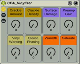 Ableton Vinylizer Rack