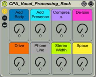 Vocal Processing Rack