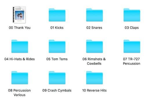 TR-LAX Folders