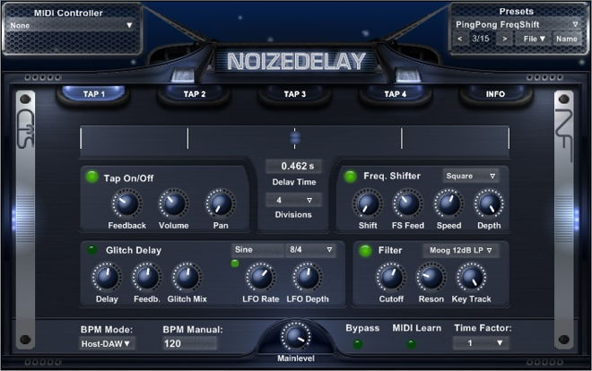 NoizeDelay Free VST Delay Plugin