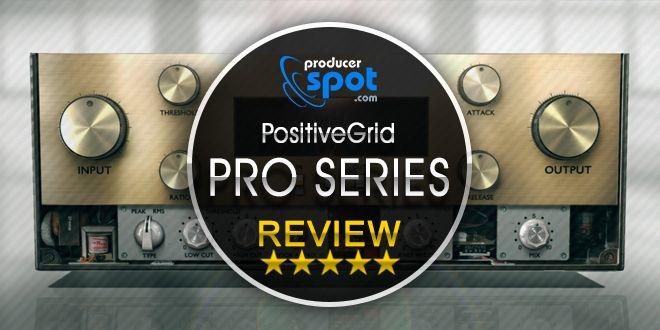 Positive Grid Pro Series Compressor Plugins