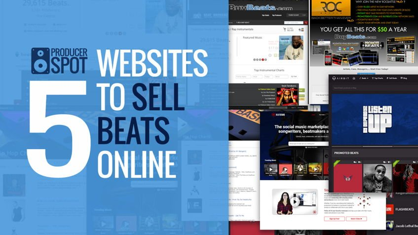 5 Best Websites To Sell Hip Hop Beats Online