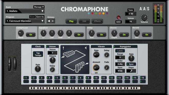 Chromaphone 2 Synthesizer Plugin