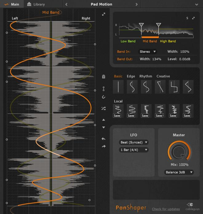 Review: Cableguys PanShaper Stereo Width Plugin • ProducerSpot