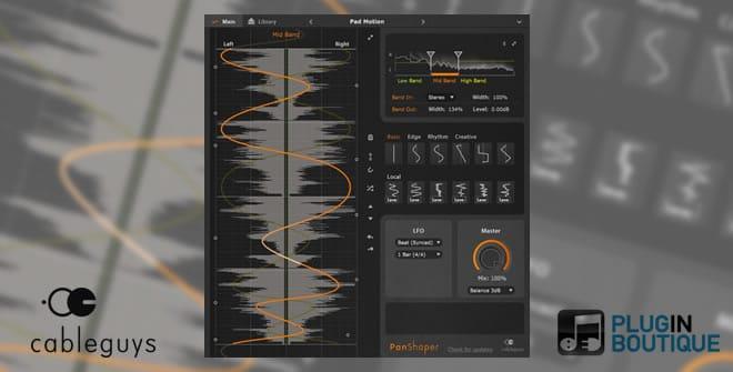 PanShaper Stereo Plugin
