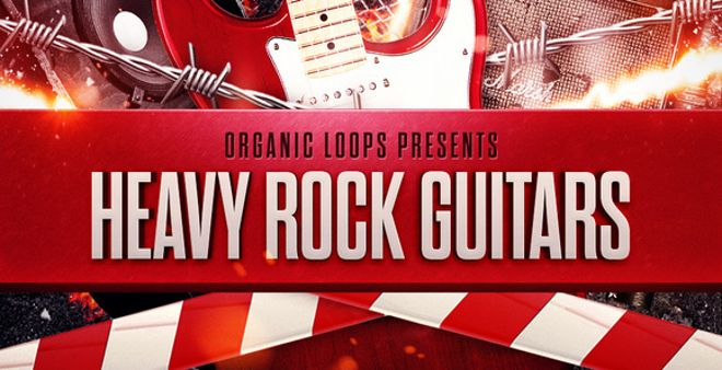 Heavy Rock Guitars Sample Pack Released by Organic Loops