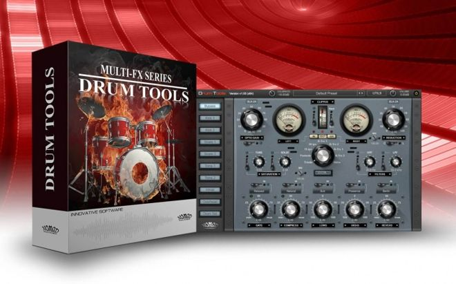 Nomad Factory Drum Tools Plugin