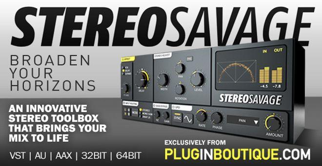 StereoSavage Stereo Toolbox Plugin