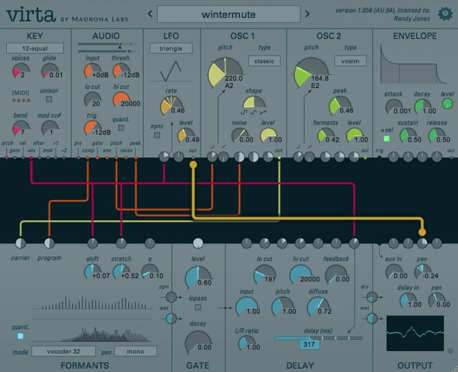 Virta Syntheszier Plug-in
