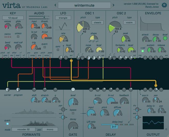 Virta Syntheszier Plug-in