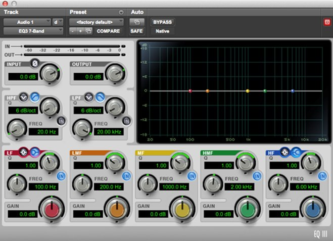 EQ III - Pro Tools EQ Plugin