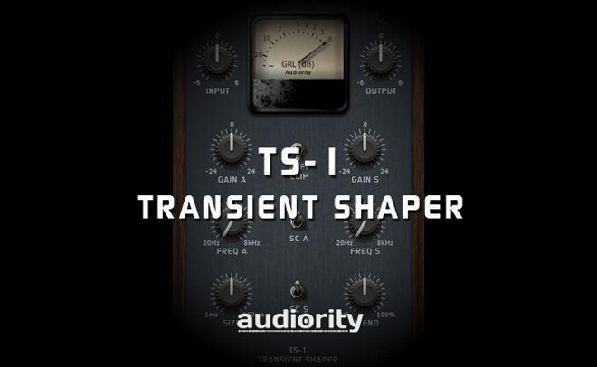 TS-1 Transient Shaper Plugin by Audiority
