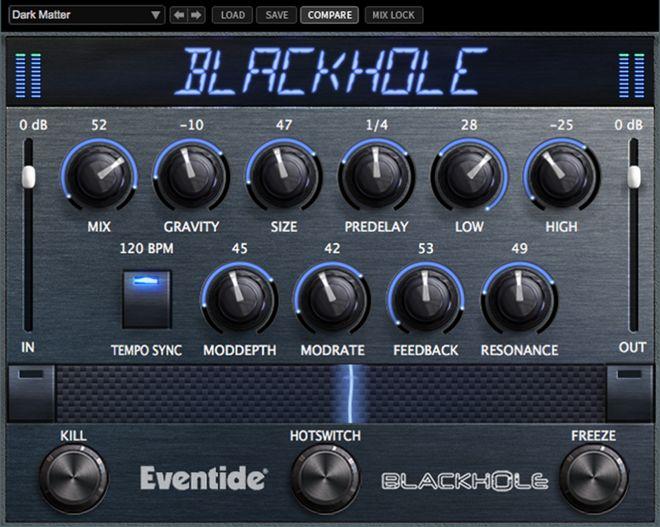 Eventide Blackhole GUI