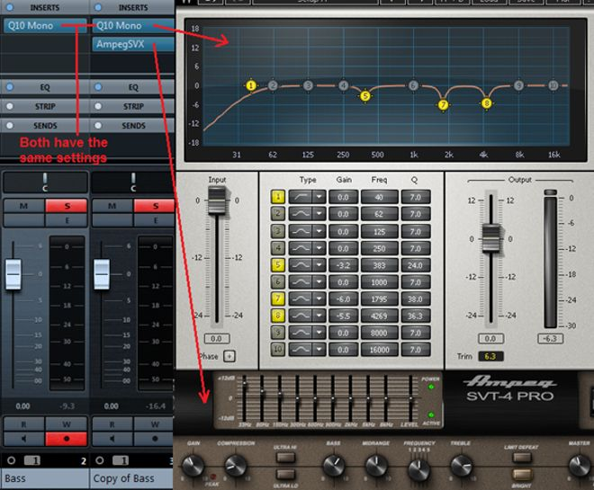 How to eq the bass