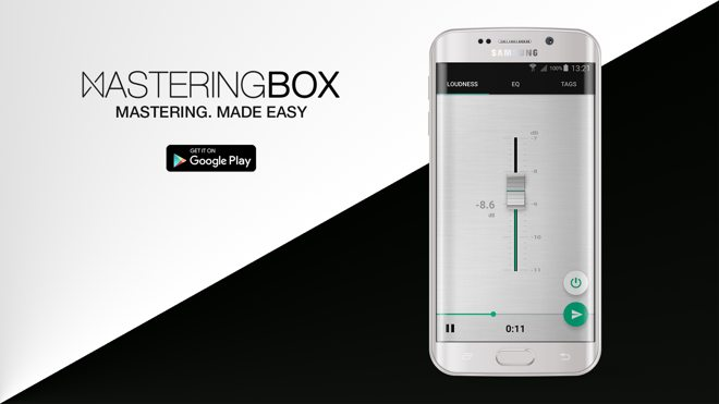 MasteringBOX Android Music Mastering APP