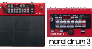 Musikmesse 2016: Nord Drum 3 Percussion Synthesizer by Nord